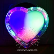 Ночник Lemanso Сердце мультик 3 LED / NL135