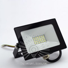 Прожектор LED 30w 6500K IP65 1800LM LEMANSO чорний/ LMP9-34
