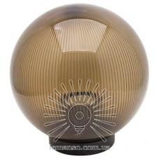 Шар диаметр 200 чайный призматический Lemanso PL2115 макс. 40W  + база с E27