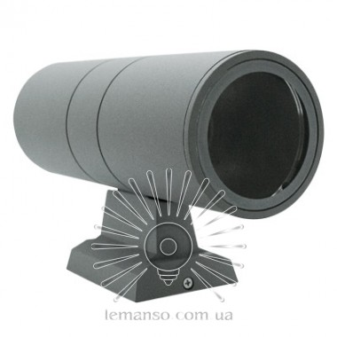 Подсветка для стены Lemanso 2*E27 - G45/A60 макс.15Вт (только LED) IP65 серебро, 1м кабеля/ LM1108 описание, отзывы, характеристики