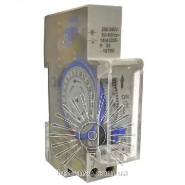 Таймер реле Lemanso на DIN-рейку электромеханический LM691 описание, отзывы, характеристики