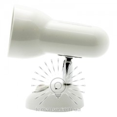 Спот Lemanso ST192-1 75W R63 E27 металл c выкл. / белый