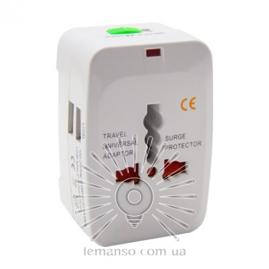 Переходник - адаптер Lemanso 2USB / 2.1A / LMA7305 описание, отзывы, характеристики