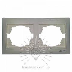Рамка 2-я LEMANSO Сакура крем горизонтальная  LMR1111