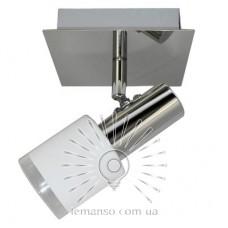 Спот Lemanso ST195-1 одинарный E14 матовый хром