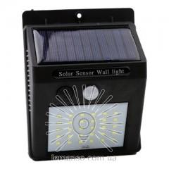 Подсветка для стены LED Lemanso 5W 160LM IP65 6500K с д/движения и солн. батареей / LM33001 c аккум