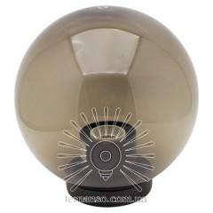 Шар диаметр 200 дымчастый Lemanso PL2114 макс. 40W  + база с E27