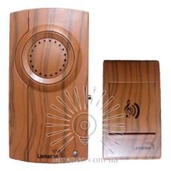 Звонок Lemanso 230V вишня LDB29