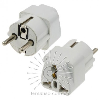 Переходник - адаптер Lemanso белый / LMA037 описание, отзывы, характеристики