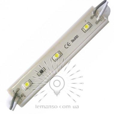LED модуль Lemanso 2835 3LED 12V 36LM 0.32W IP65 6500K / LR103 описание, отзывы, характеристики