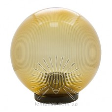 Шар диаметр 250 золотой призмат. Lemanso PL2104 макс. 40W  + база с E27