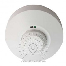 Microwave motion sensor LEMANSO LM612 360° white