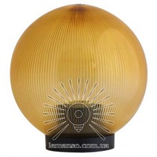 Шар диаметр 250 золотой призмат. Lemanso PL2104 макс. 40W  + база с E2