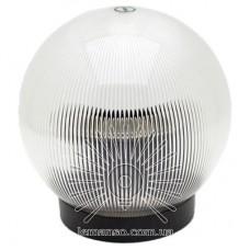 Шар диаметр 150 прозрачный призматический Lemanso PL2113 макс. 25W  + база с E27