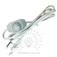 Кабель + реостат 200W Lemanso 2,0 м белый LMA016