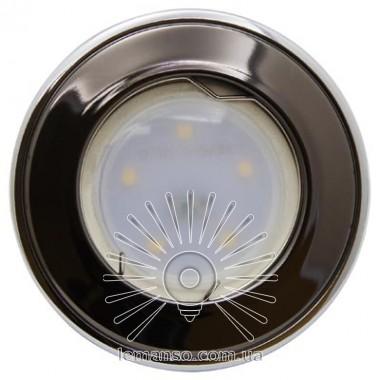 Спот Lemanso LMS004 чёрный-хром MR-16 50W описание, отзывы, характеристики