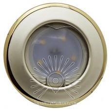 Спот Lemanso LMS004 жемчужное серебро-золото MR-16 50W