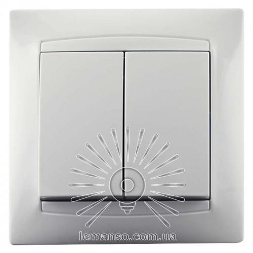 Купить Выключатель 2-й LEMANSO Сакура белый LMR1005 в Интернет ... 8096b1b4fcc78