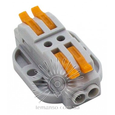 Клемма соединительная (2+2) двухстороняя Lemanso / LMA2612 (крепления под болты) описание, отзывы, характеристики