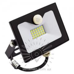 Прожектор LED 30w 6500K IP65 1800LM LEMANSO со встроенным датчиком чёрный/ LMPS36