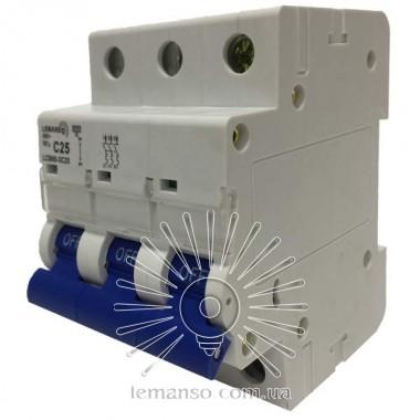MCB Lemanso 6.0KA (тип С) 3п 63A LCB60 описание, отзывы, характеристики