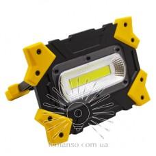 Прожектор LED 5W COB 470Lm 6500K IP44 LEMANSO жёлто-черний/ LMP84  (гар.180дн.)