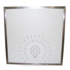LED панель Lemanso 36W 3600LM 6500K 180-265V квадрат / LM1070