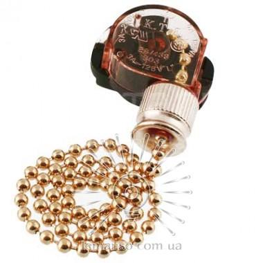 Выключатель Lemanso с цепочкой античное золото + 10см провод LMA033 описание, отзывы, характеристики