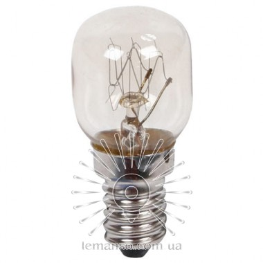 Лампа Lemanso T25 15W E14 для холодильника описание, отзывы, характеристики