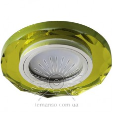 Спот Lemanso ST153 жёлтый-хром GU5.3