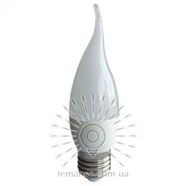 Лампа Lemanso св-ая C37T E27 4,2W 380LM 6500K / LM701 с хвостом описание, отзывы, характеристики