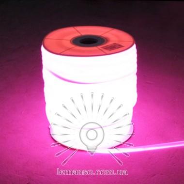 Неон LEMANSO 360град. 120LED 6W/м IP65 розовый 2835SMD 220V 2160LM / LM860