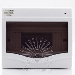 Коробка под 5-8 автоматов LEMANSO внутренняя, ABS, индикатор / LMA118