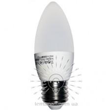 Лампа Lemanso LED C37 E27 4,2W 380LM 6500K мат. / LM322